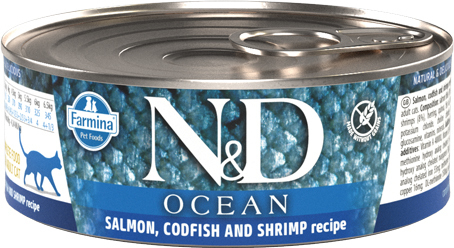 N&D Cat Ocean (salmon, codfish & shrimp) 80 g