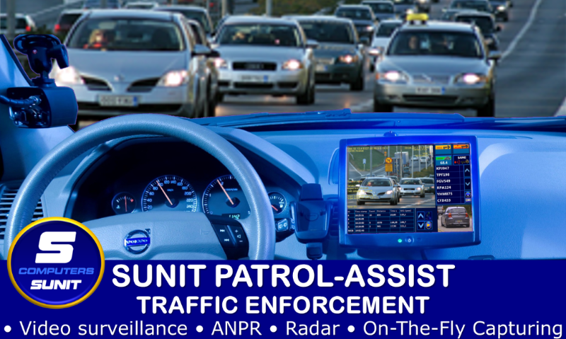 SUNIT Traffic Surveillance, Video, ANPR, Radar