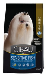 Cibau Fish & Rice Sensitive MINI 2,5 kg