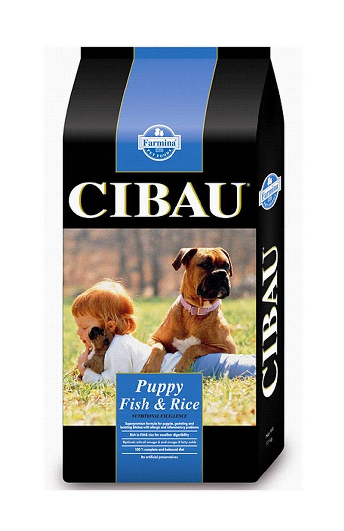 Cibau Fish & Rice Puppy 15 kg