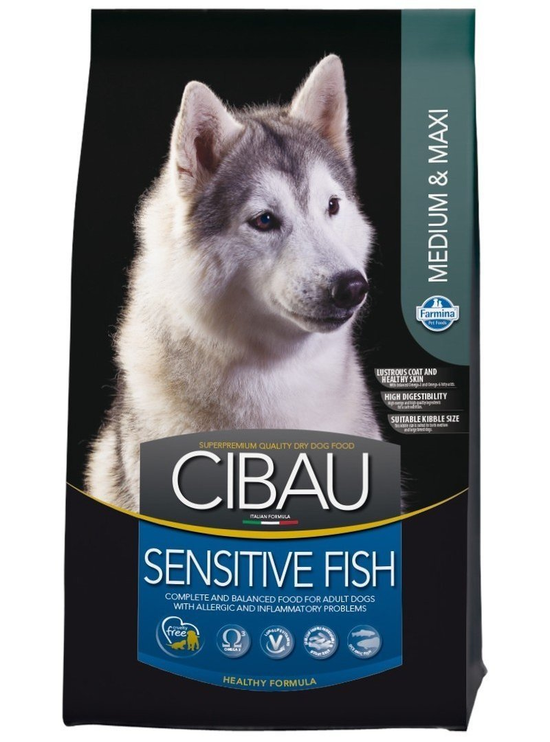 Cibau Fish & Rice Sensitive 12 kg