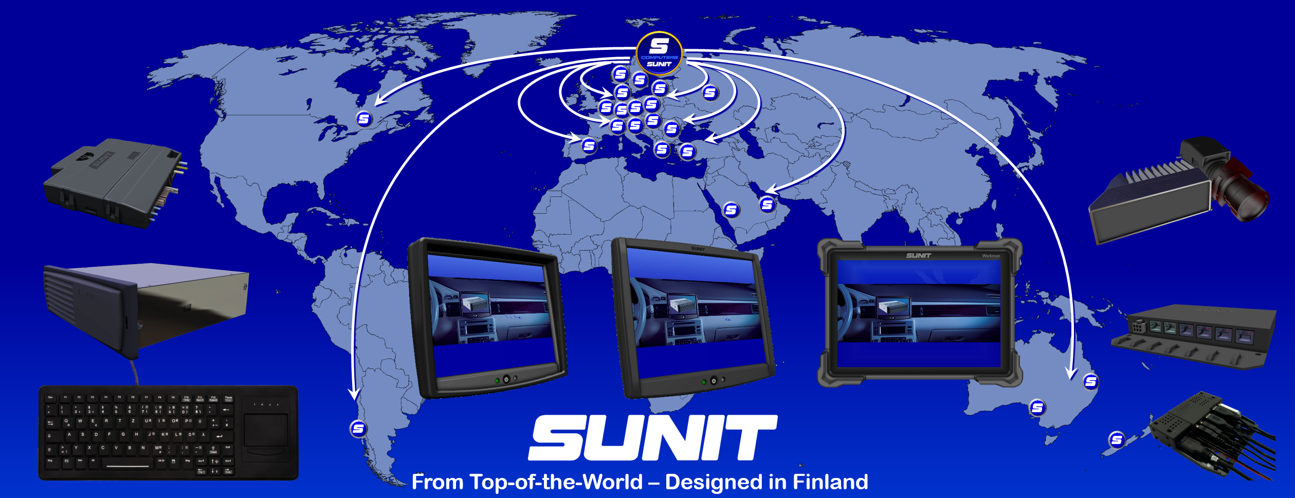 SUNIT Industry Computers from Top of the World