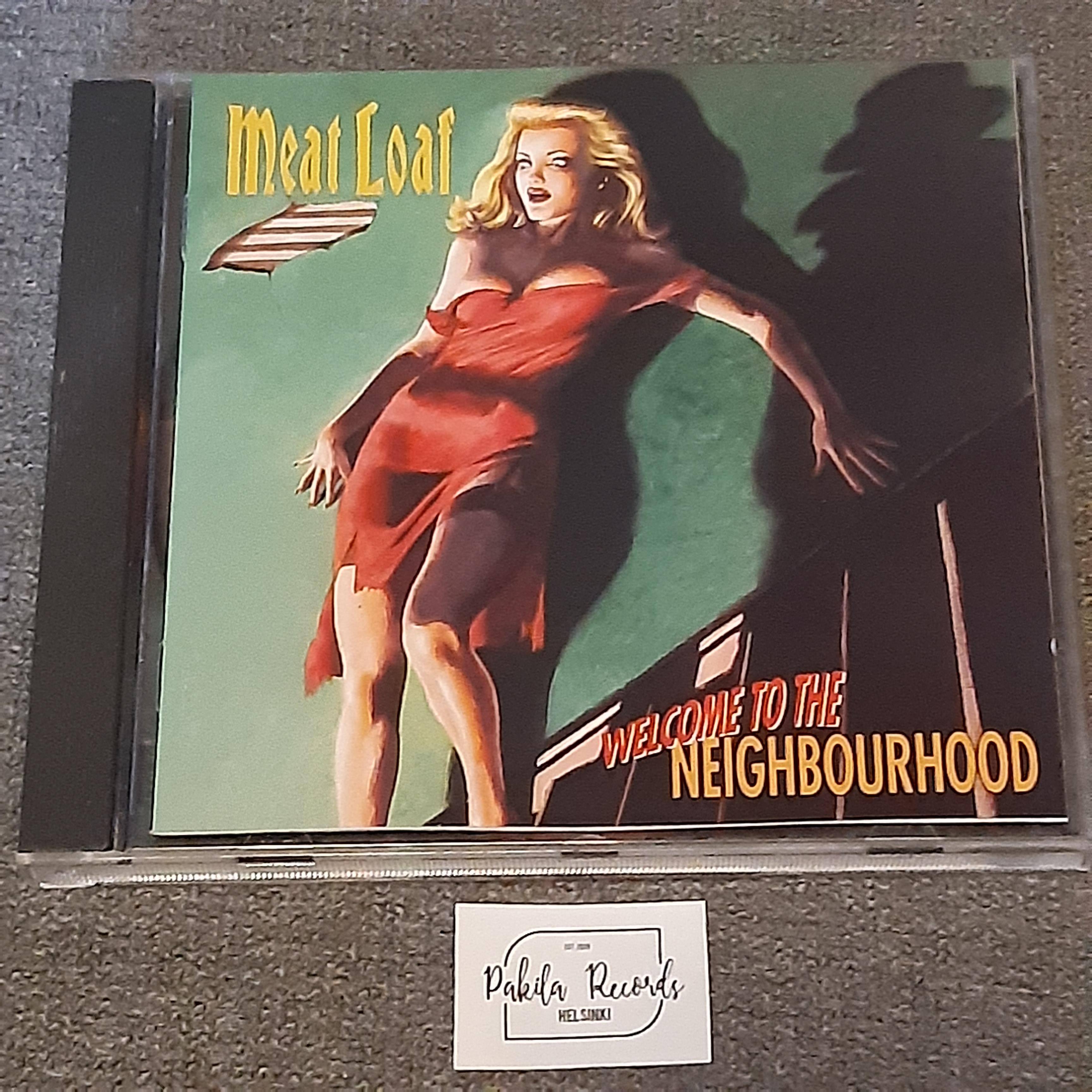 Meat Loaf - Welcome To The Neighbourhood - CD (käytetty)