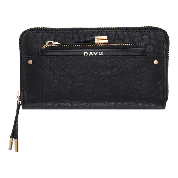 DAY ET - Day Bubbly Leather Wallet Black
