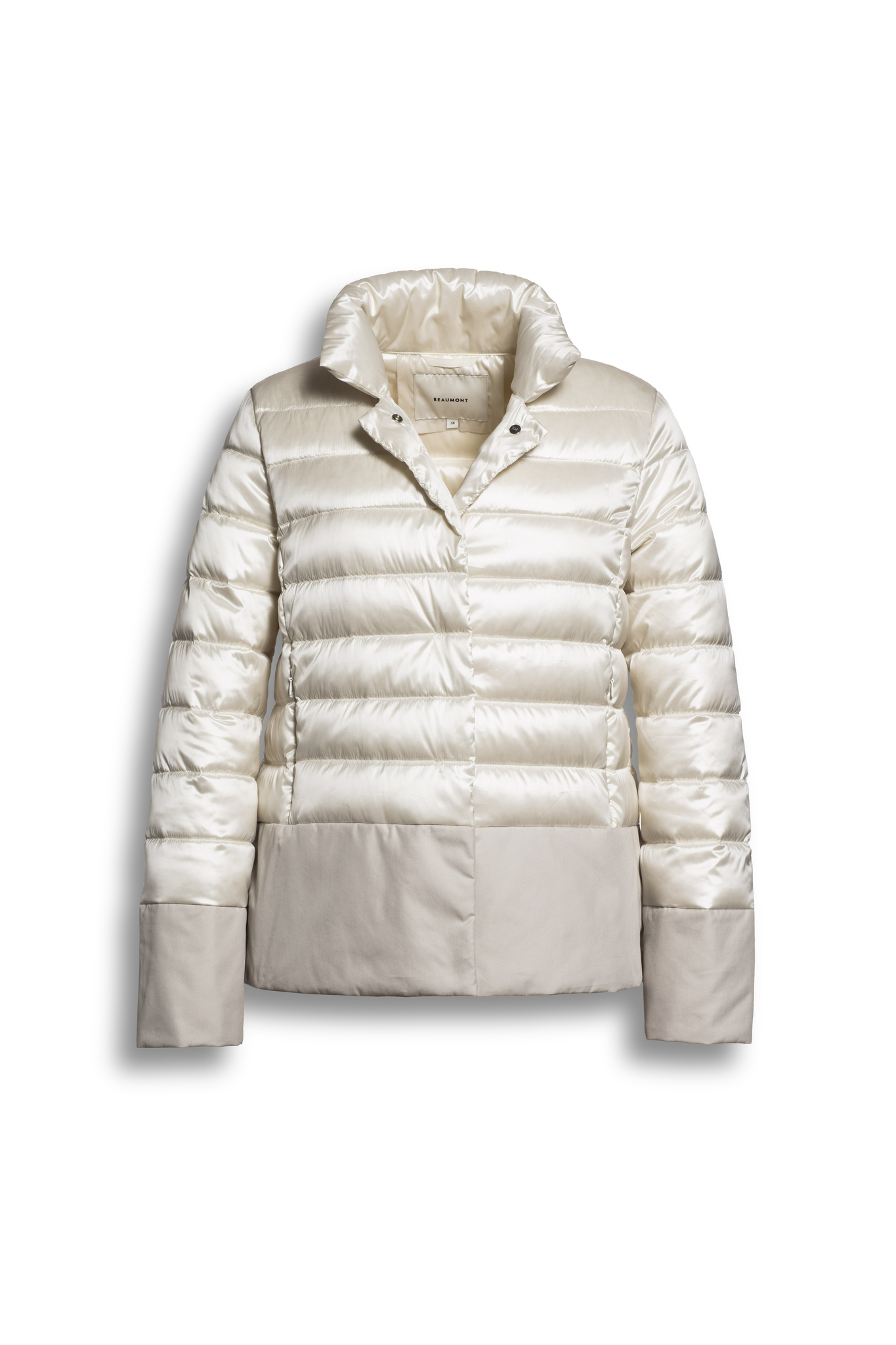 BEAUMONT Mix Changeant-Co Jacket Offwhite