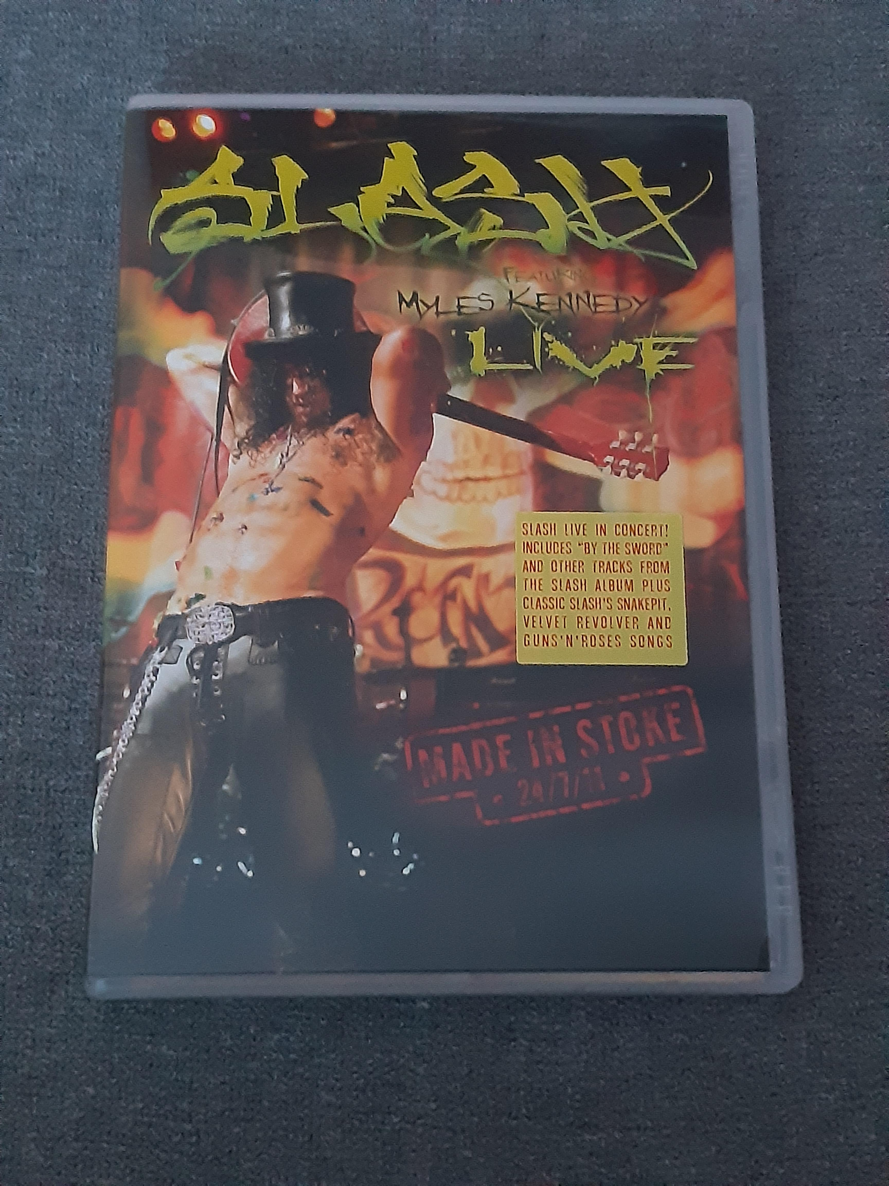 Slash Featuring Myles Kennedy - Live, Made In Stoke 24.7.11 - DVD (käytetty)