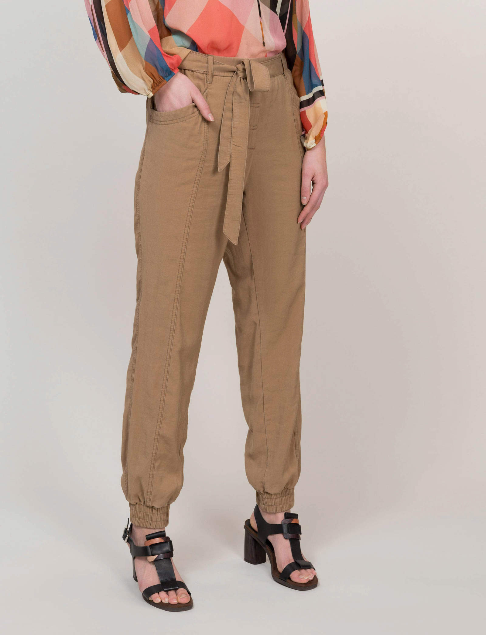 Summum Woman Sporty Trousers Dark Desert
