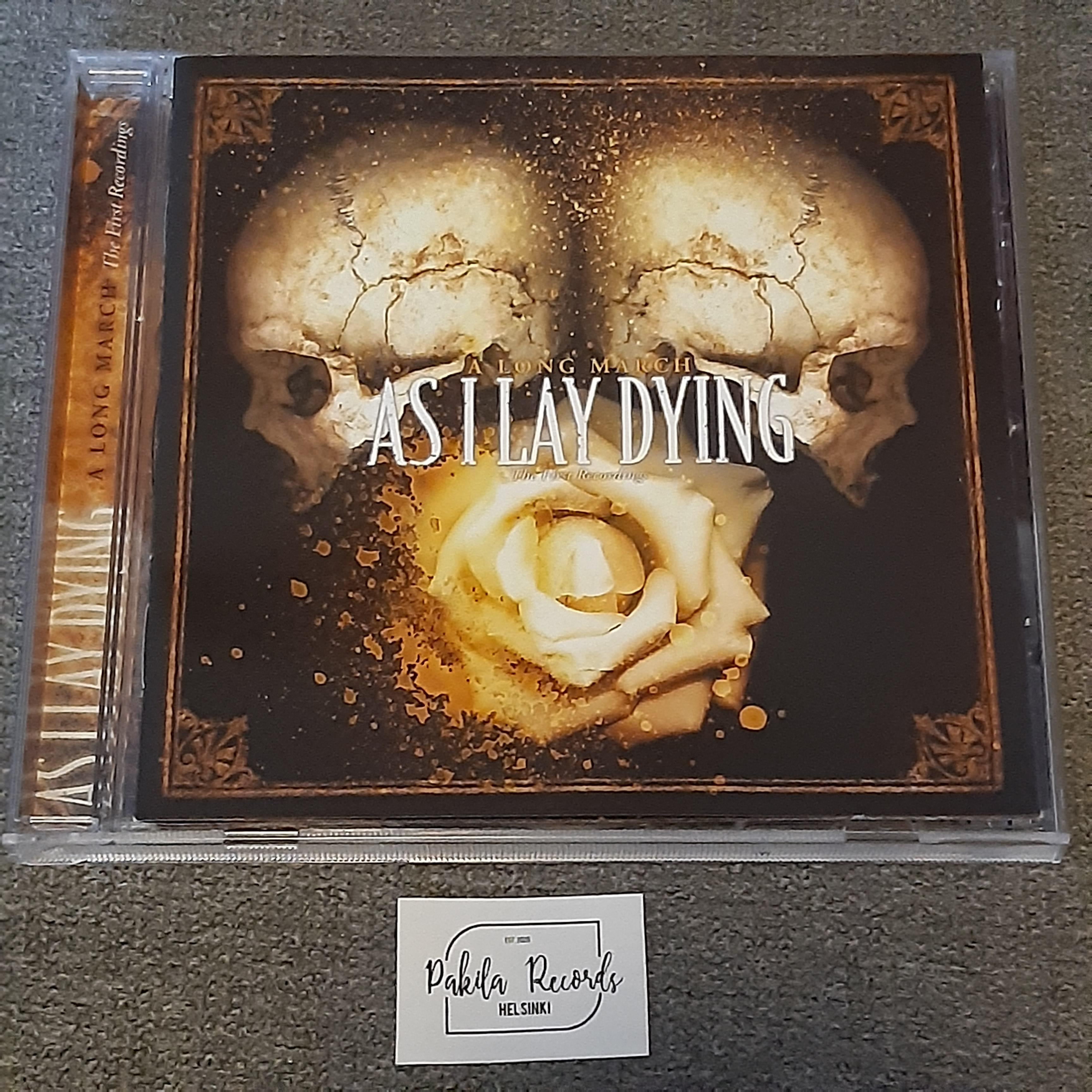As I Lay Dying - A Long March, The First Recordings - CD (käytetty)
