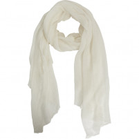 BELLA BALLOU TOP OF THE POP Cashmere 100% Scarf, Bright White