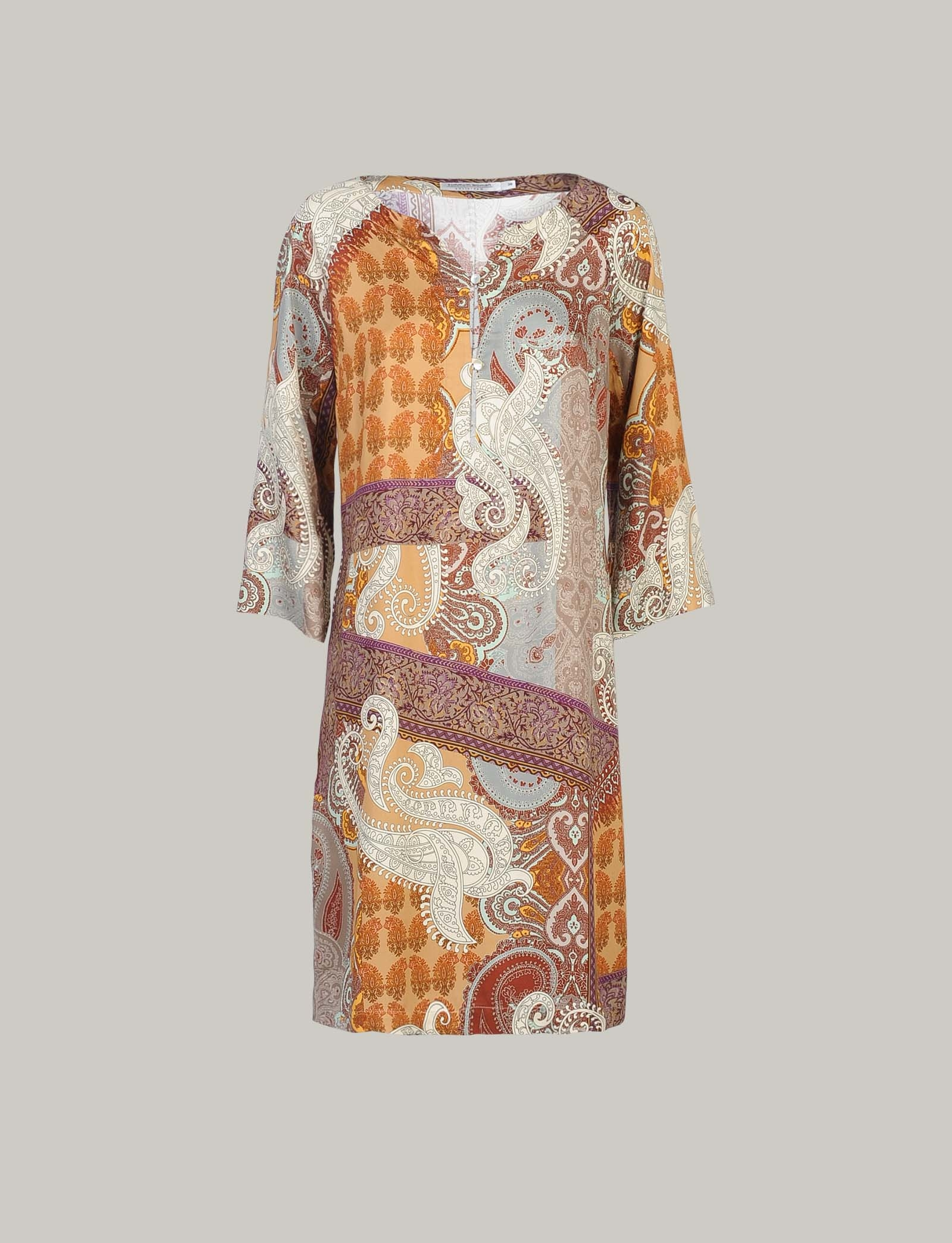 Summum Woman Dress Oriental Multicolour
