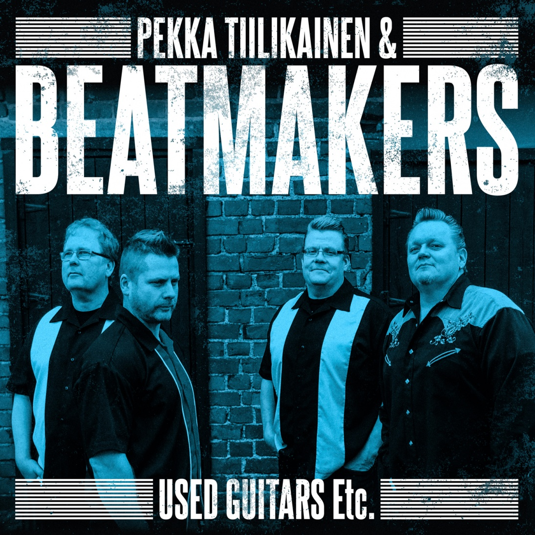Pekka Tiilikainen & Beatmakers - Used Guitars Etc. - CD (uusi)