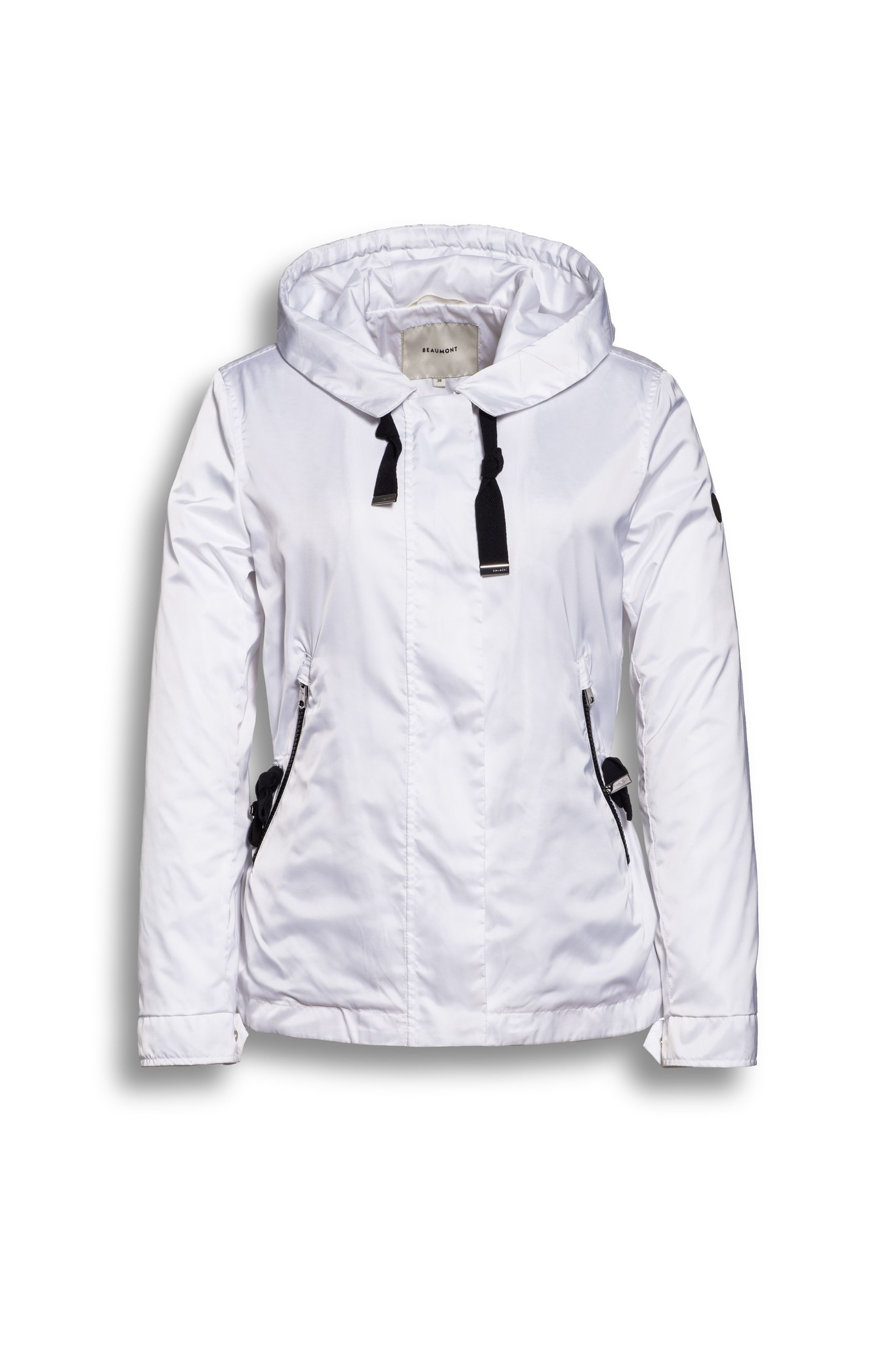 BEAUMONT Sporty Sateen Jacket White