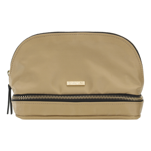 DAY ET - Day Double Zip Cosmetic Extra - Moonlight Beige ja Black