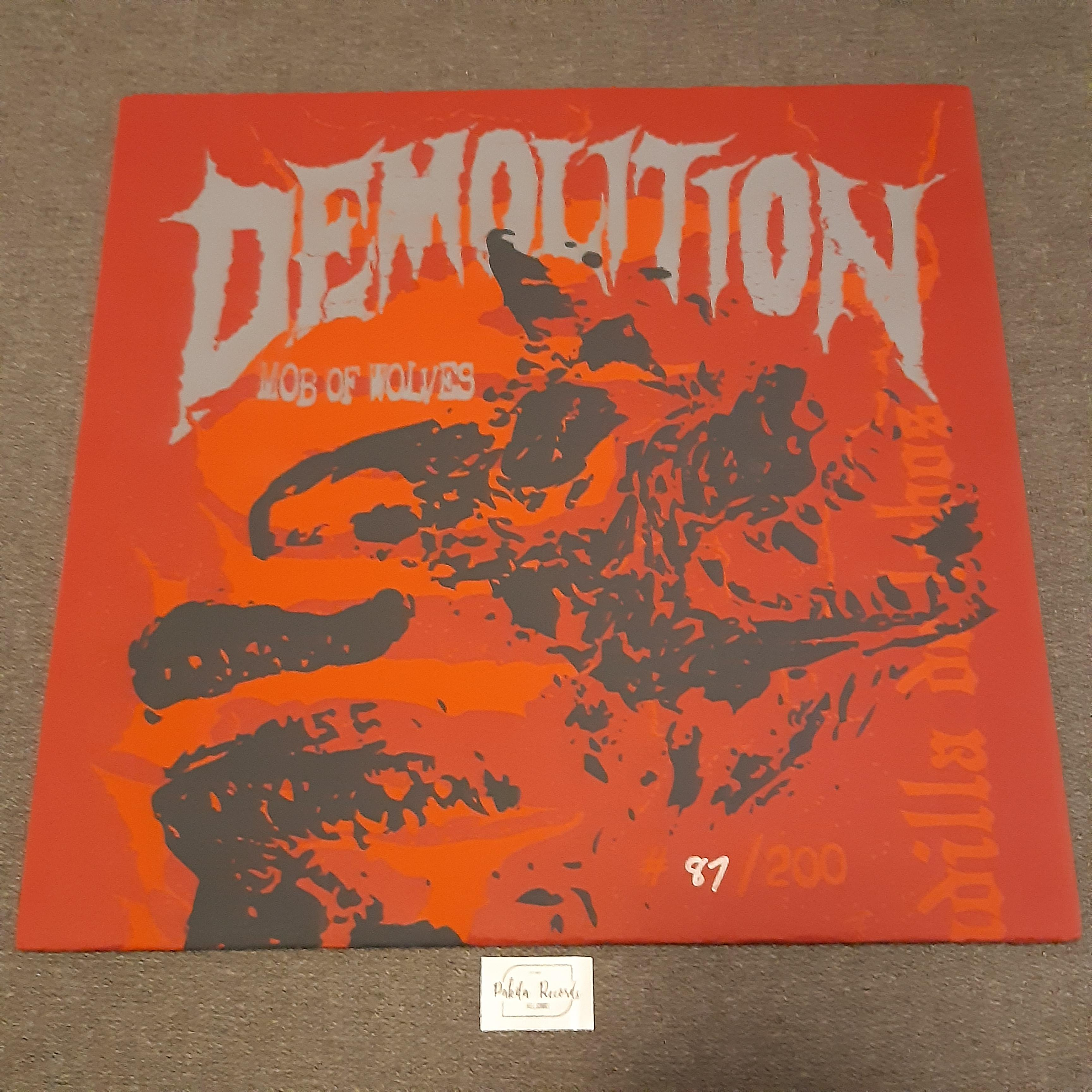 "Demolition - Mob Of Wolves - EP 12"" Limited ed. (Käytetty)"