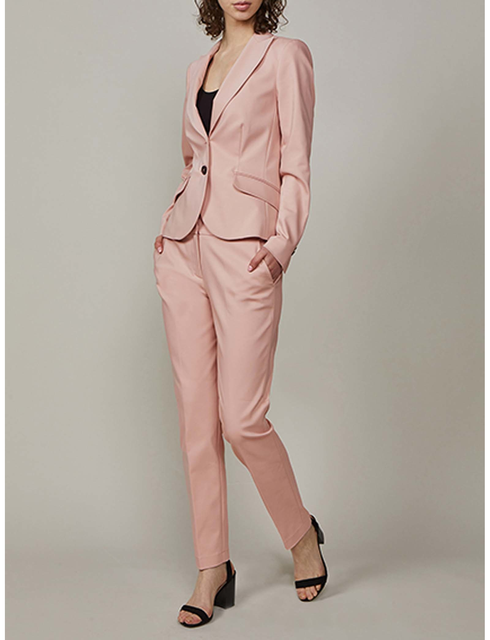 Summum Woman Trousers Classics Powder Pink