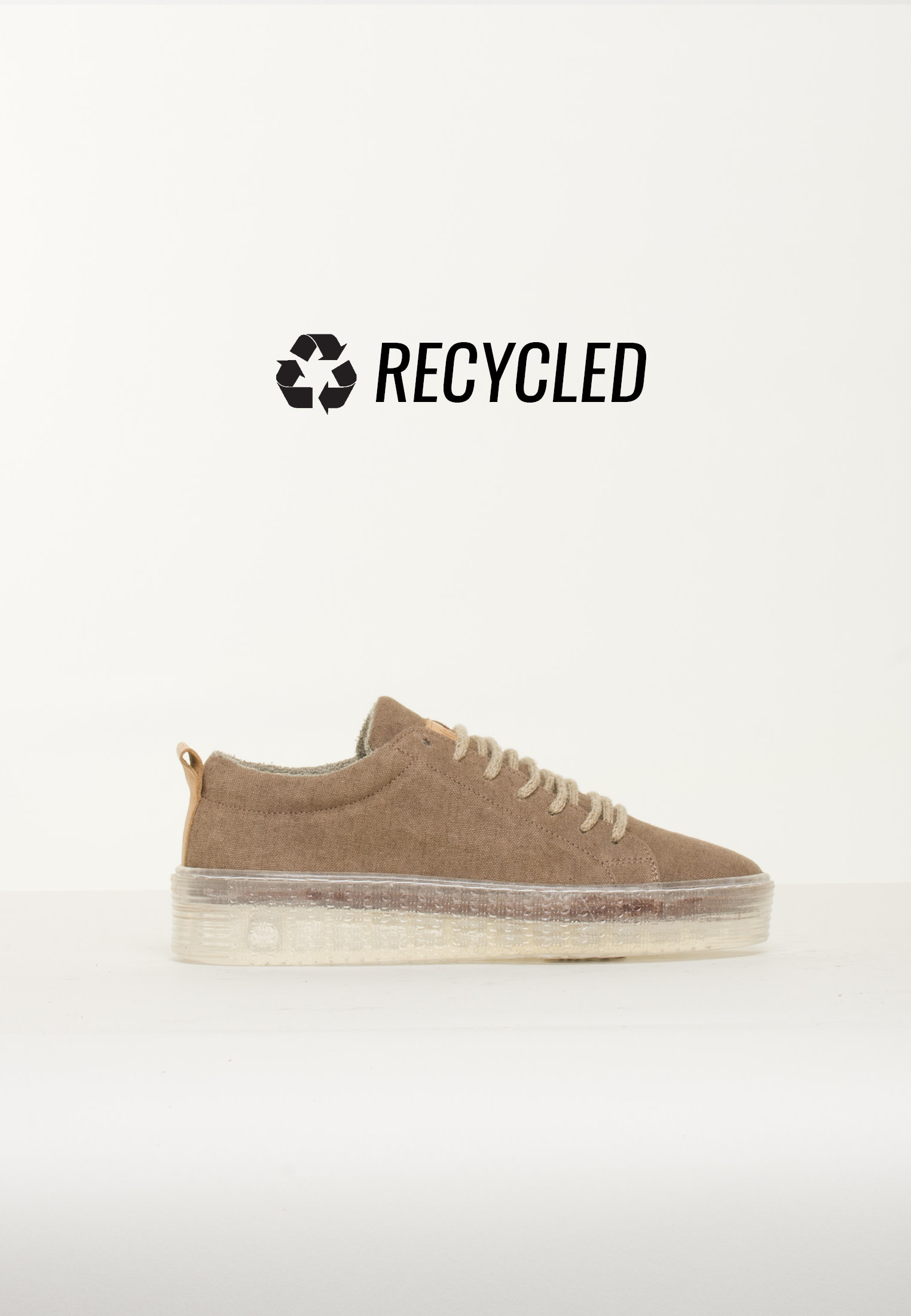 BLUEONBLUE Greenify - Oceania Recycled Sneakers Vintage Brown
