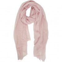 BELLA BALLOU TOP OF THE POP Cashmere 100% Scarf, Soft Pink