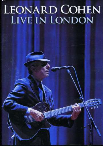 Leonard Cohen - Live In London - DVD (uusi)