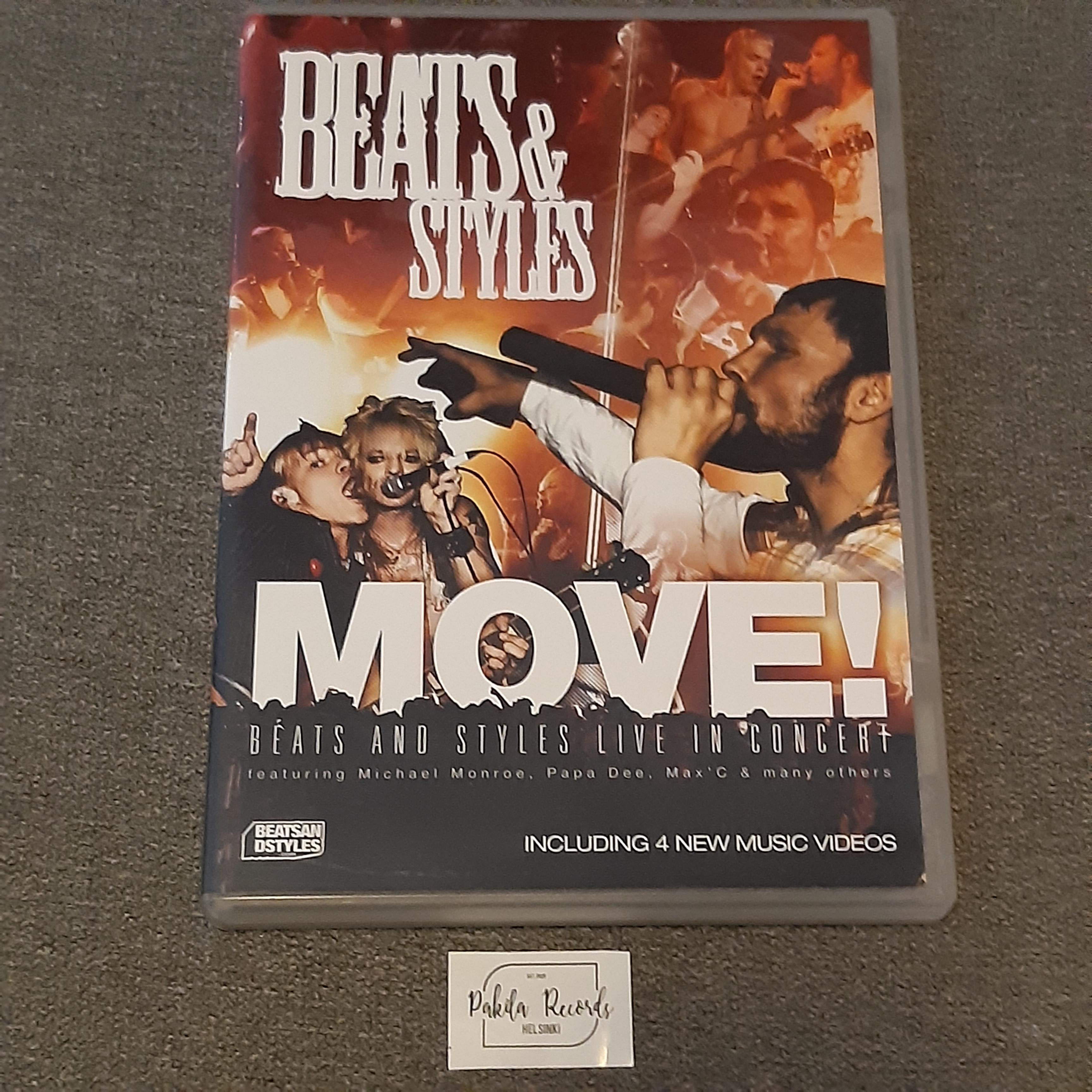 Beats & Styles - Move! Beats And Styles Live In Concert - DVD