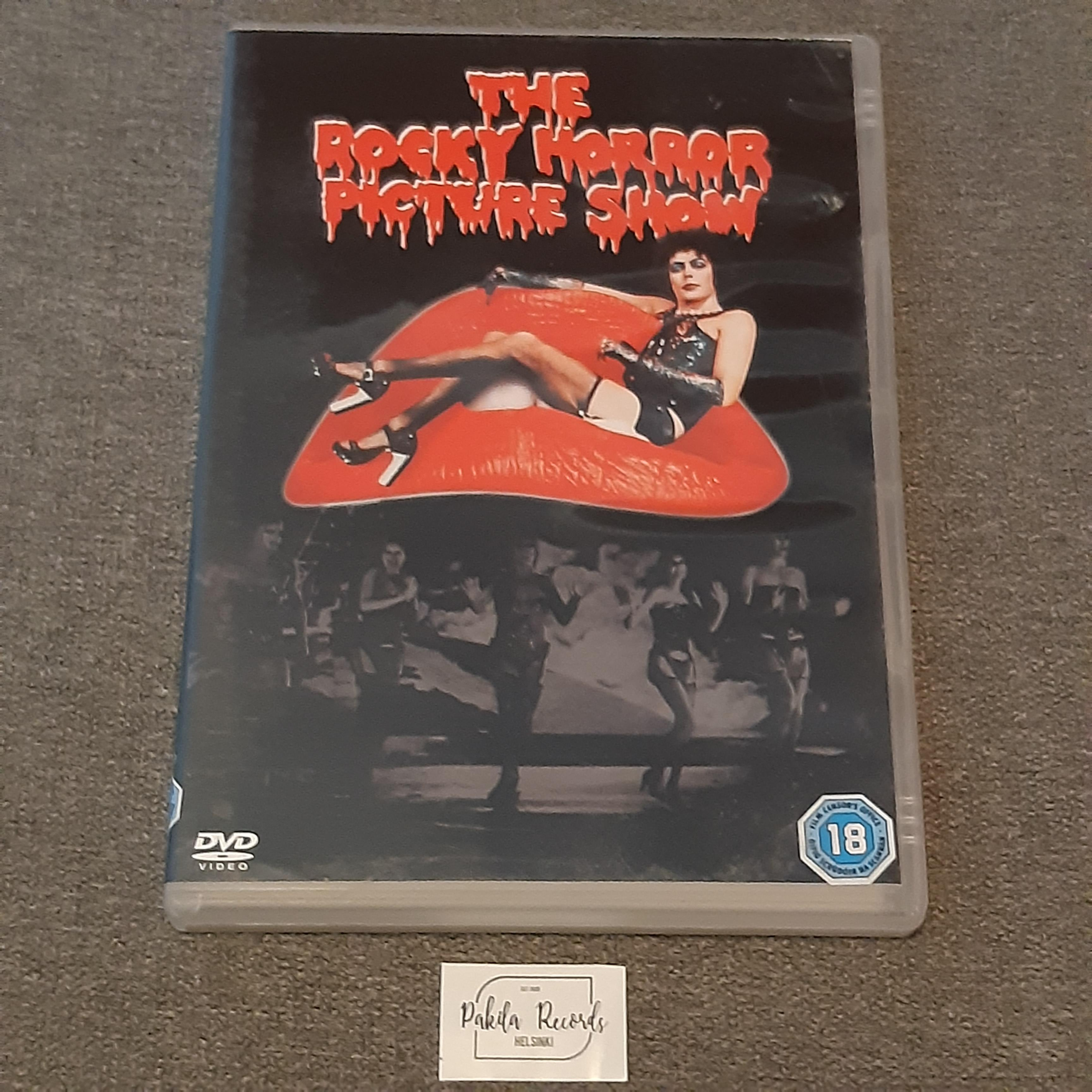 The Rocky Horror Picture Show - DVD (käytetty)