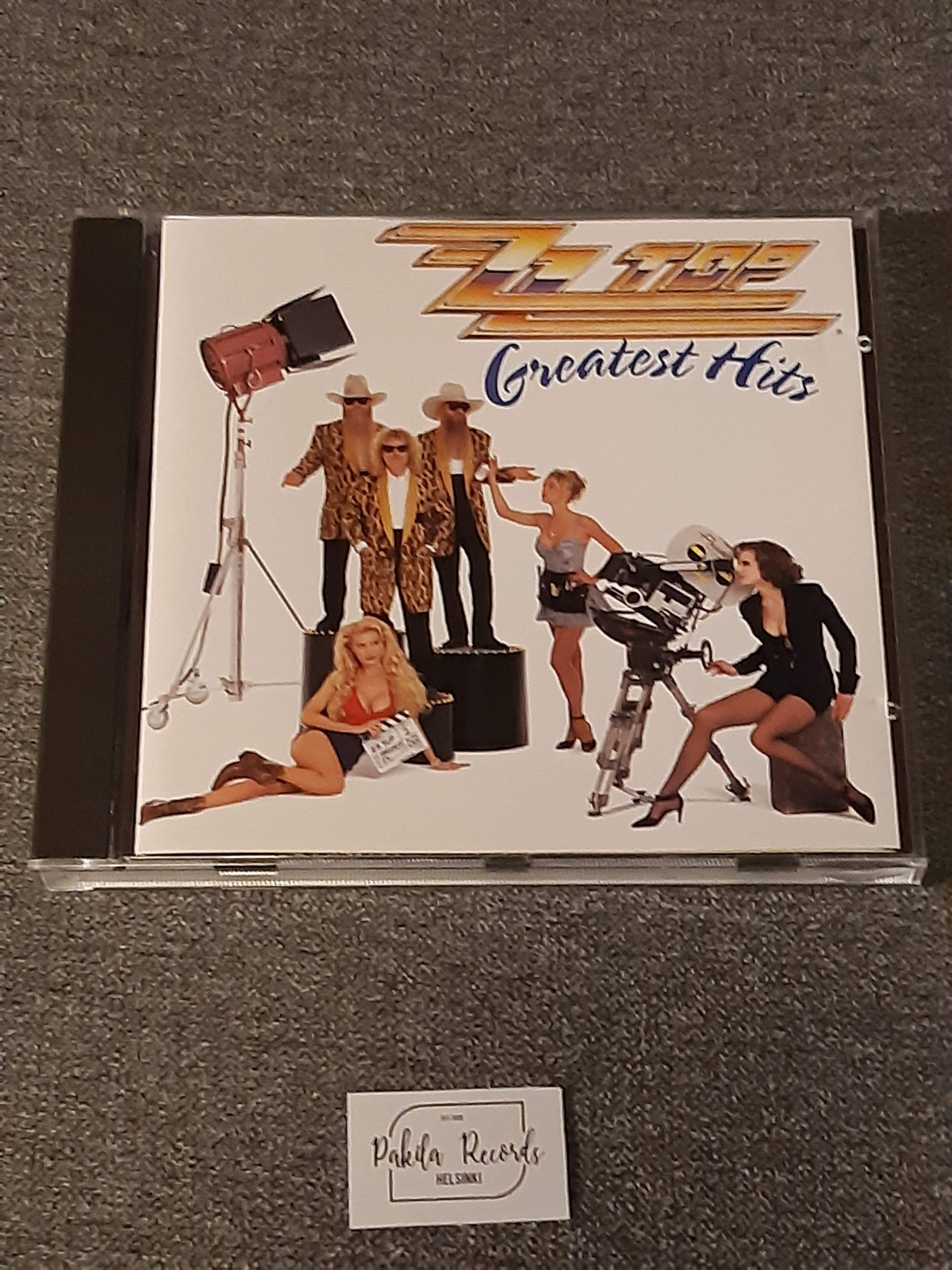 Zz Top - Greatest  Hits - CD (käytetty)